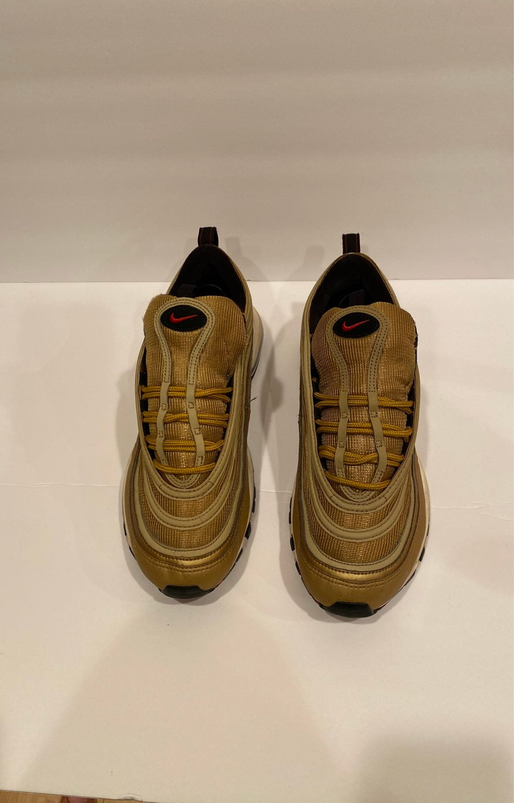 Mens Nike Air Max 97 Gold Size 10.5