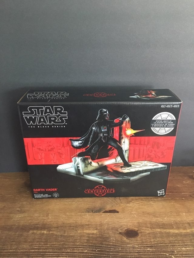 Darth Vader Black series center piece