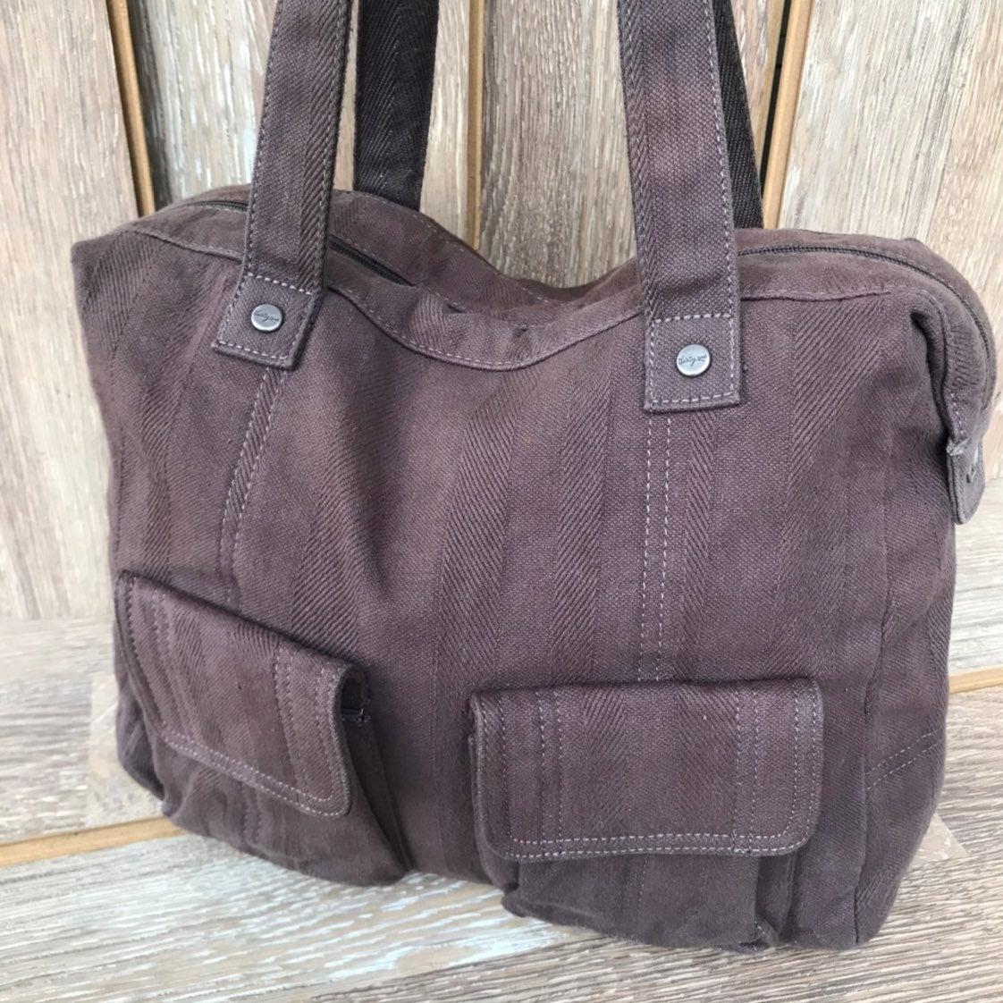 Brown Duffel Bag Cotton Thirty One