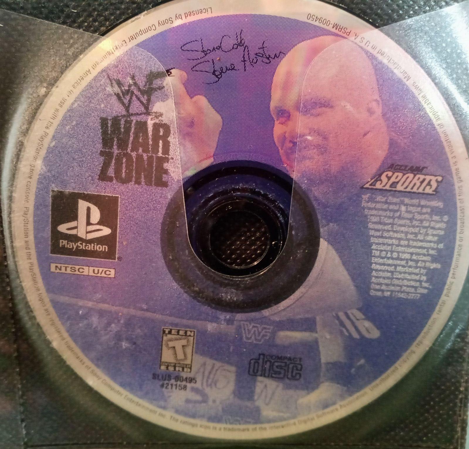 WWF War Zone PS1