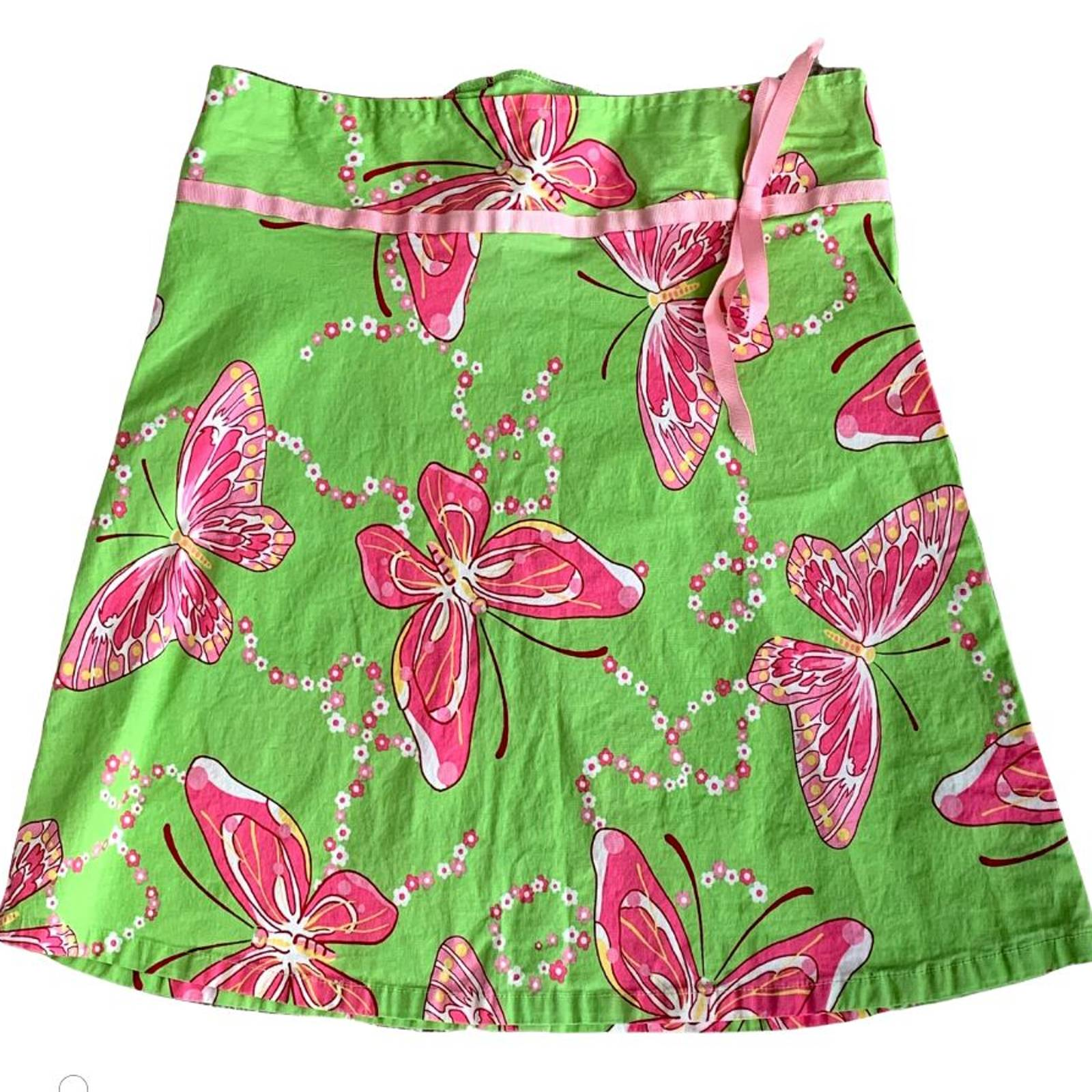 My Michelle Butterfly A- Line Skirt 14