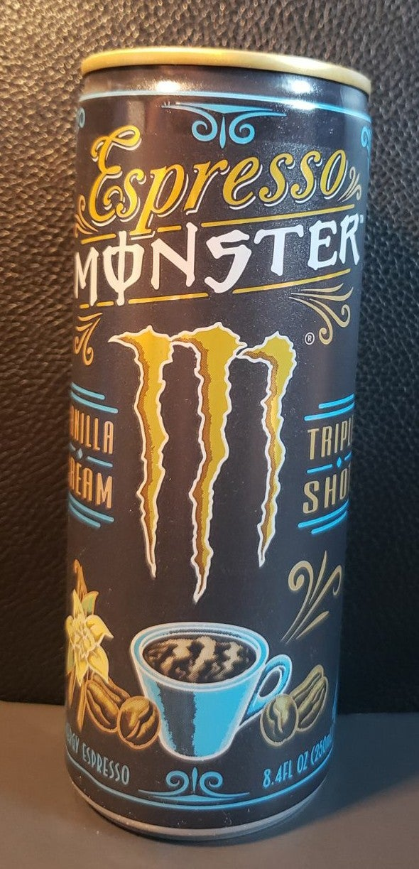 ESPRESSO VANILLA CREAM  by MONSTER