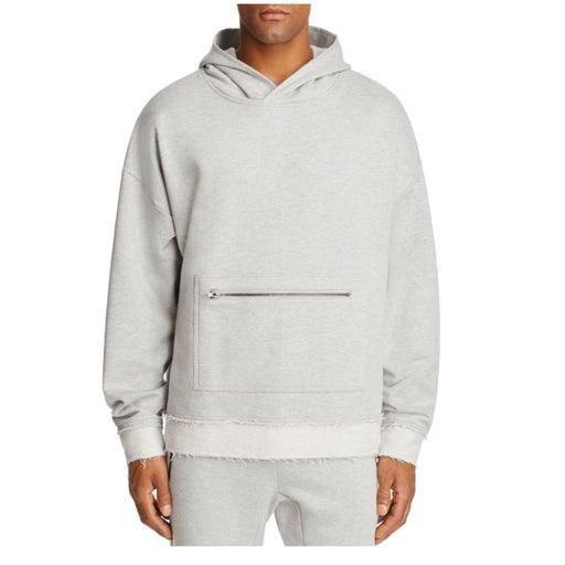 New Men's The Narrows Grey Hoodie Sz XL