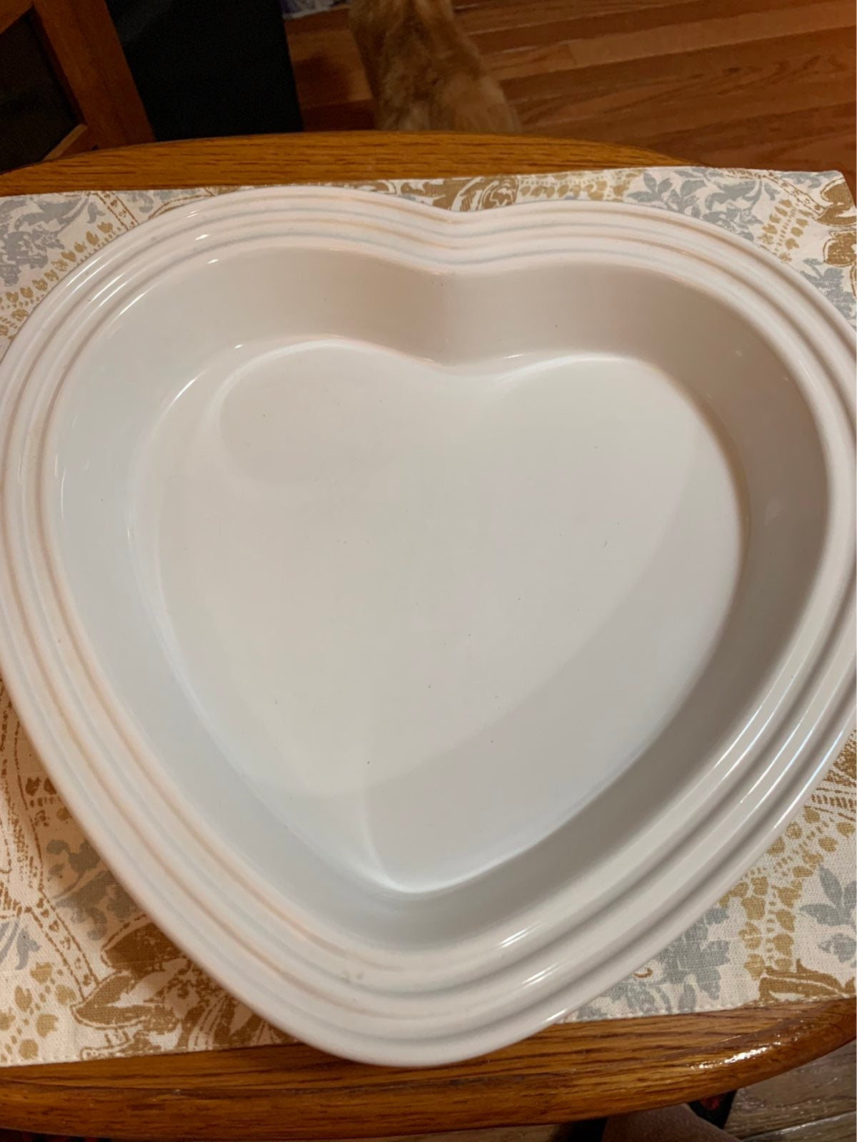 Le Creuset Heart Shaped Casserole