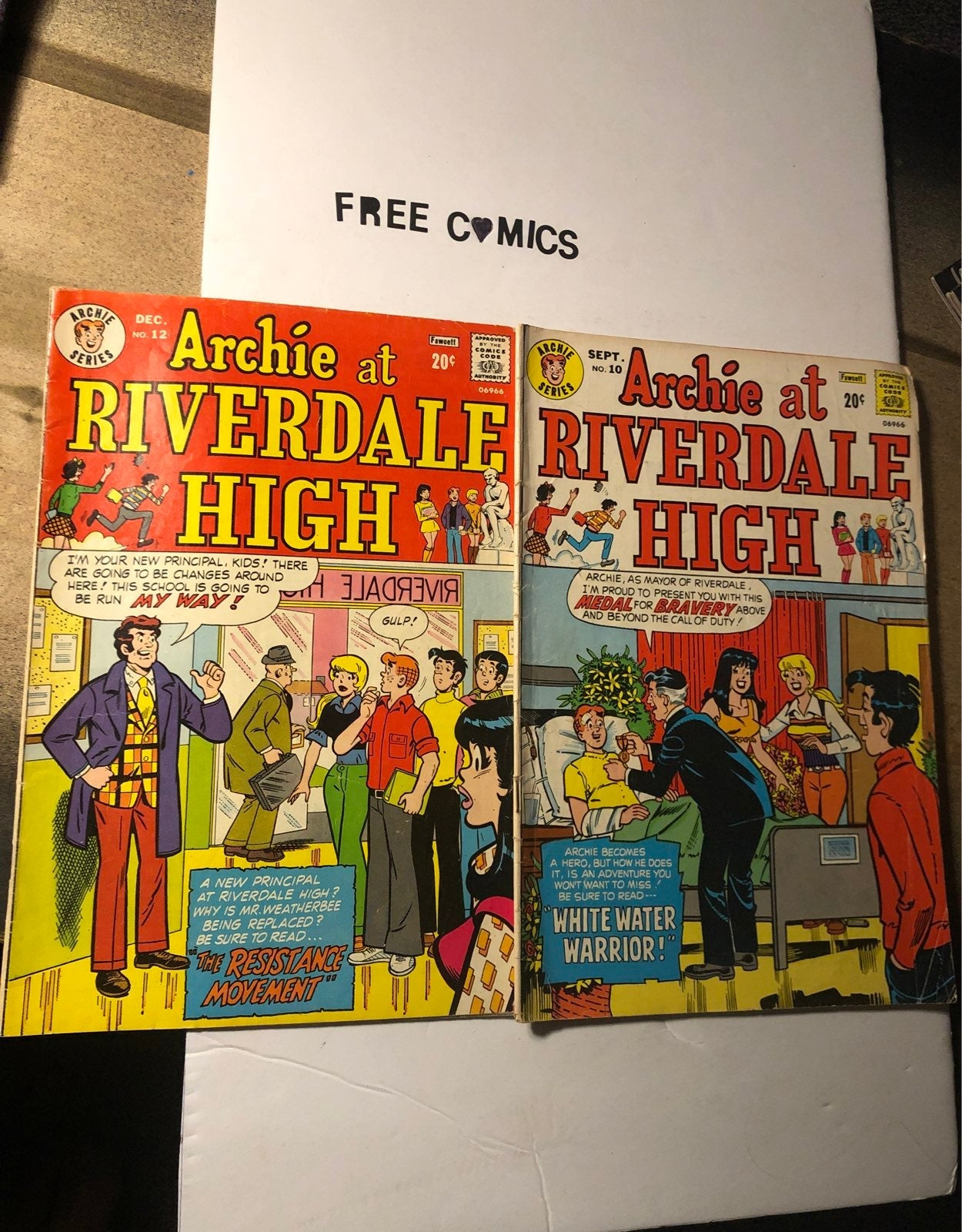 Archie at Riverdale High #'s 10 & 12