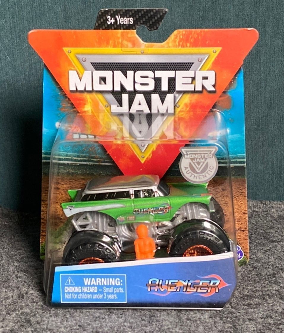 Monster Jam 1/64 Scale Avenger NEW