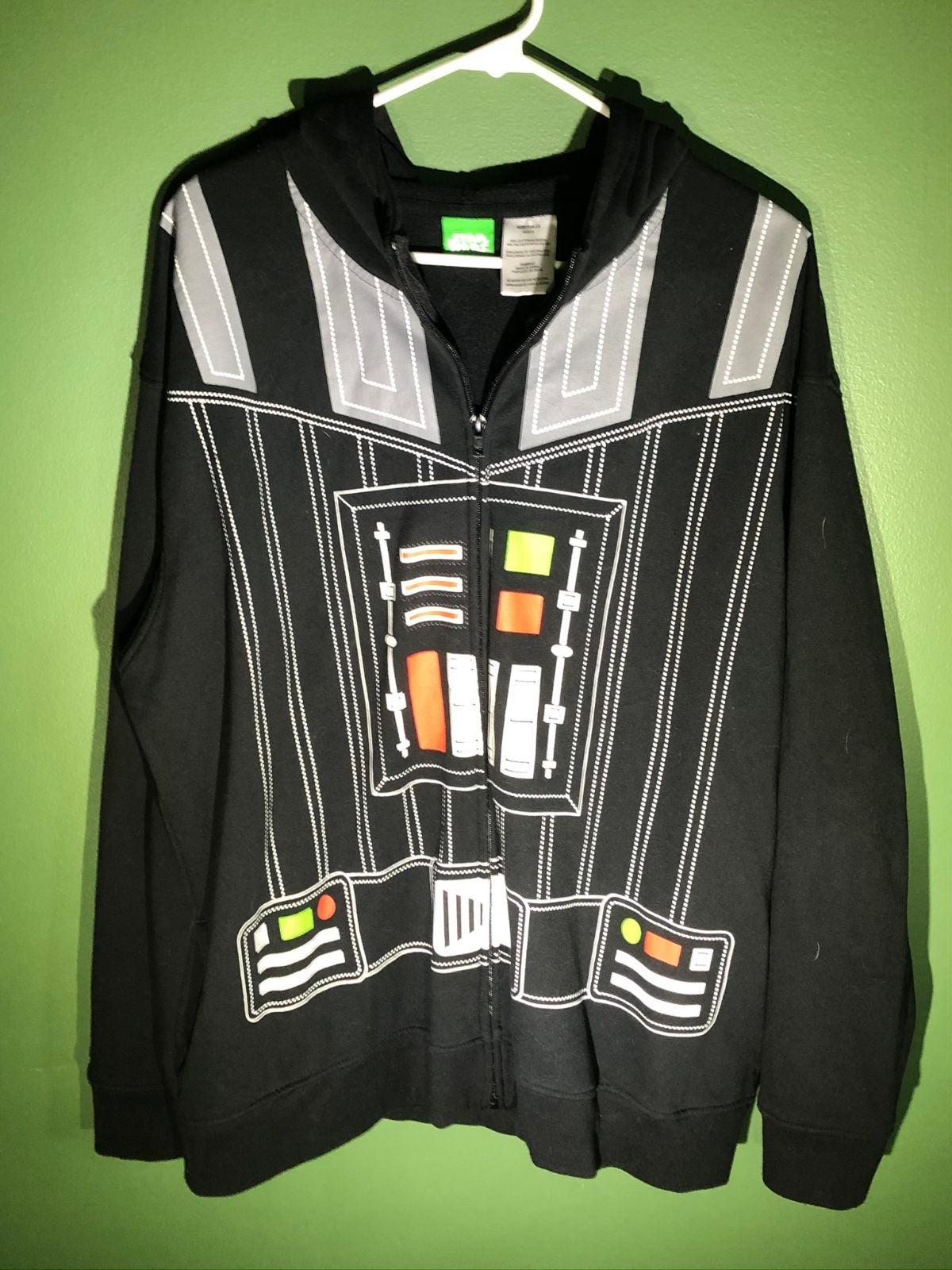 Star Wars Darth Vader Zip Up Hoodie