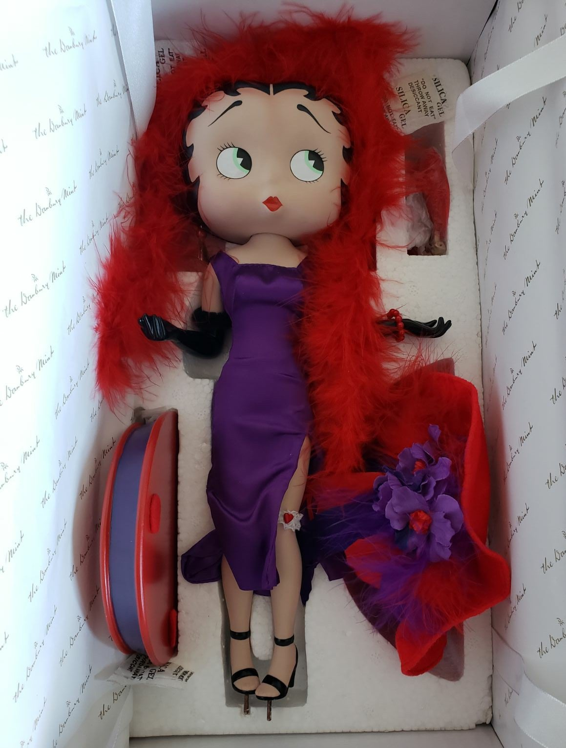 Betty Boop Red Hat Doll