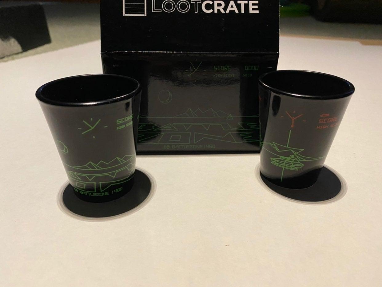 Battlezone Retro Shot Glasses
