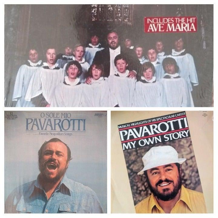 Pavarotti LP Records Hits good condition