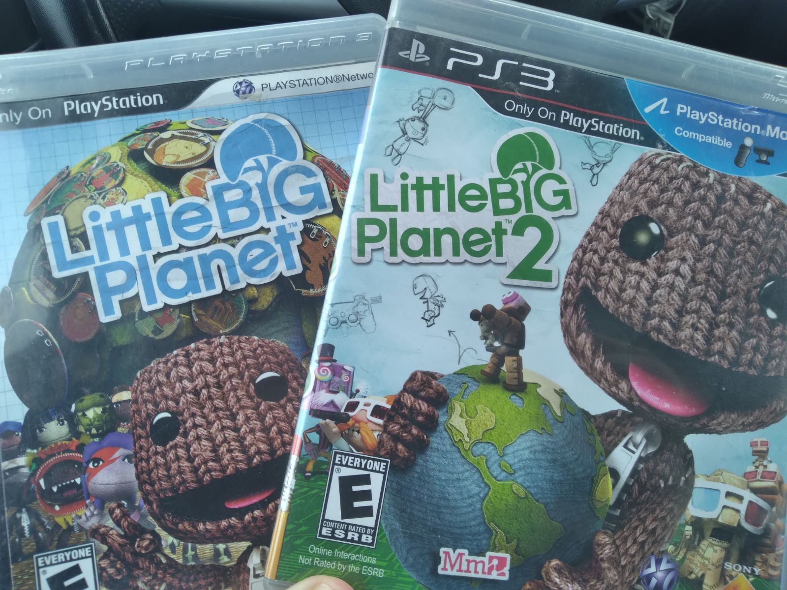 Little Big Planet 1 and 2 PS3