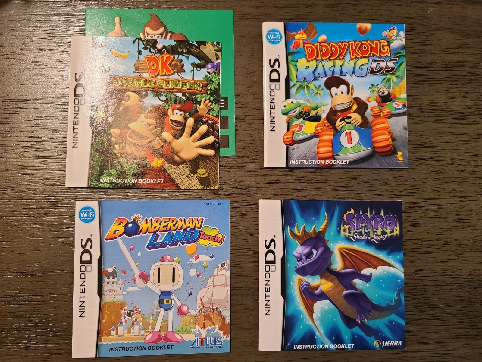 Misc DS Game Manuals