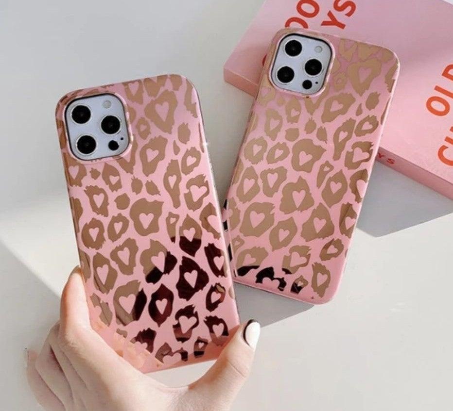 Iphone 12 pro Max Case Leopard Luxury