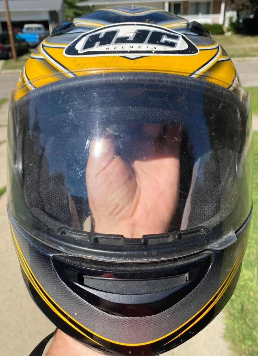 HJC osiris full face motorcycle helmet