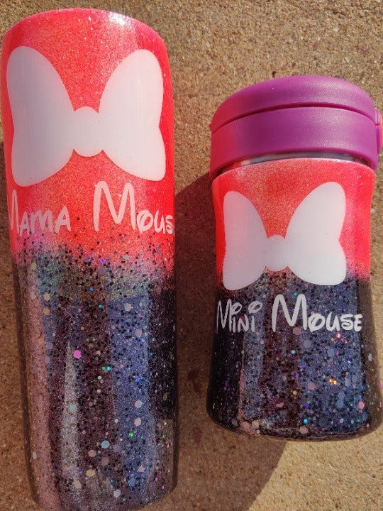 Disney Inspired: Mother/Daughter Cup Set