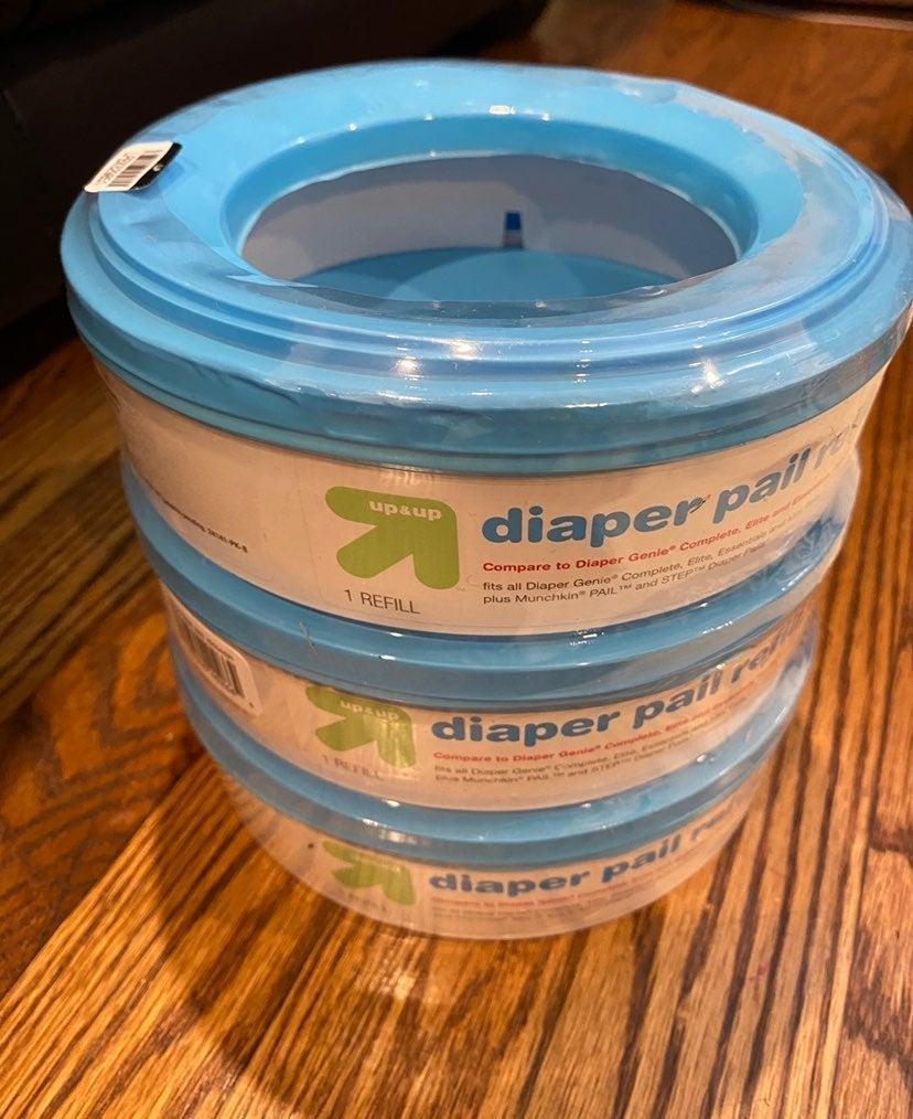 3 pack diaper refills