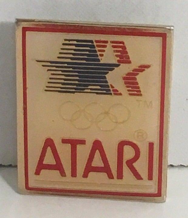1984 Olympic Atari Official Sponsor Pin