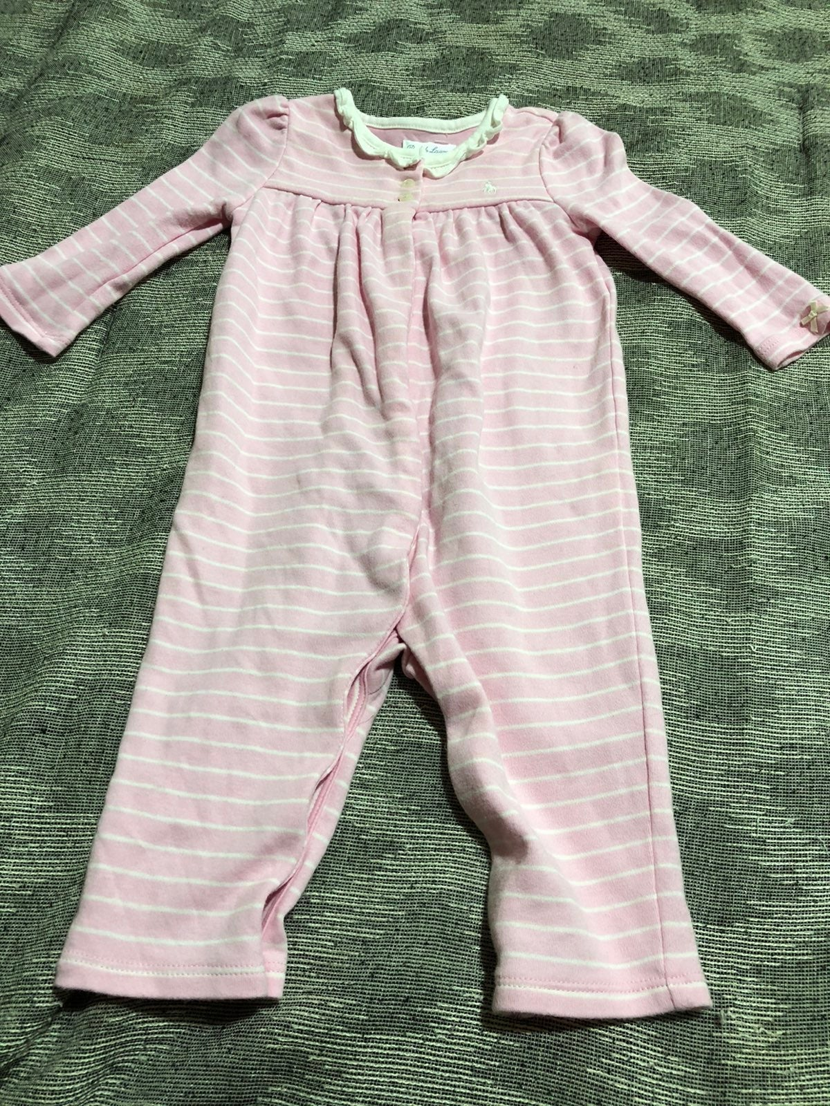 Ralph Lauren Baby Girl Size 9 mth Outfit