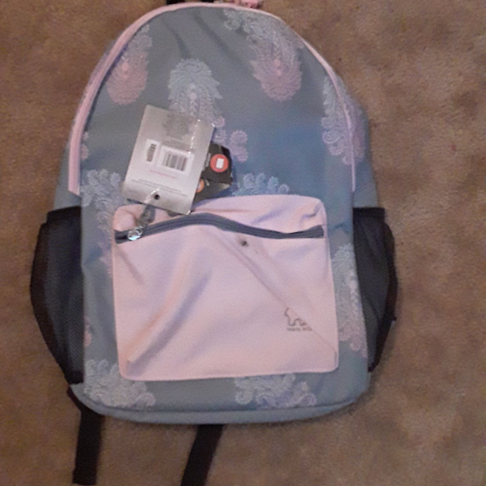 """NWT New Ivory Ella Backpack 17"""" Lovely P"""
