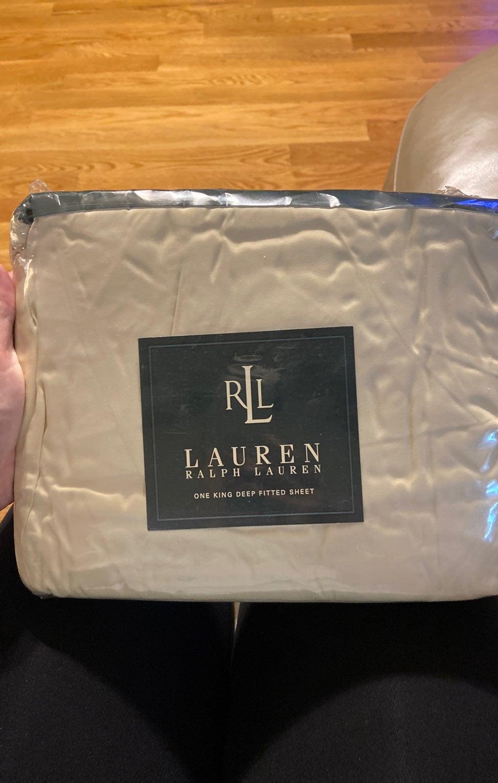 Ralph Lauren King Fitted Sheet