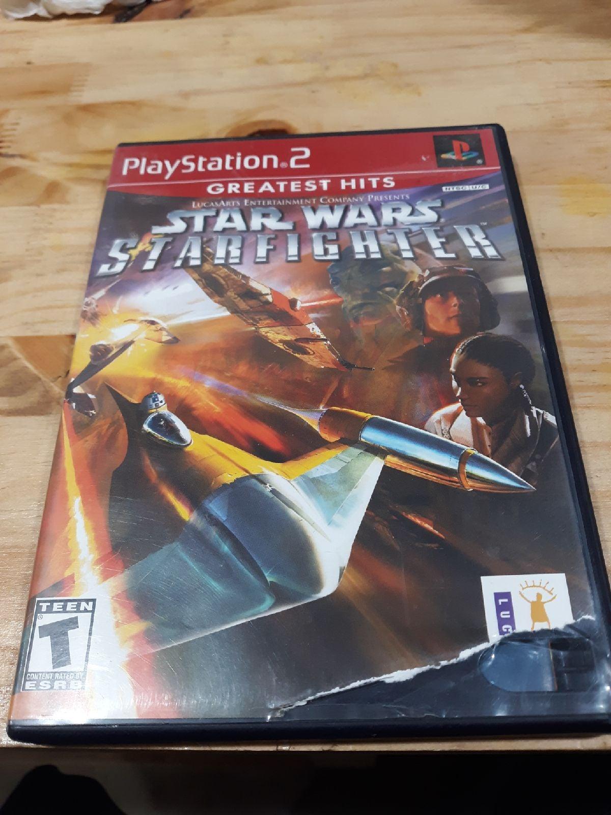 Star Wars Starfighter on PS2