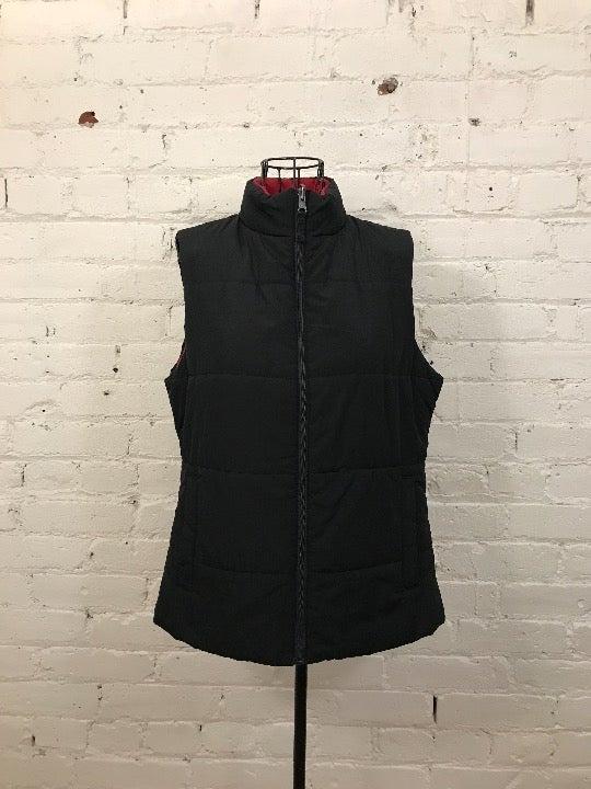 Vintage Target Reversible Puffer Vest