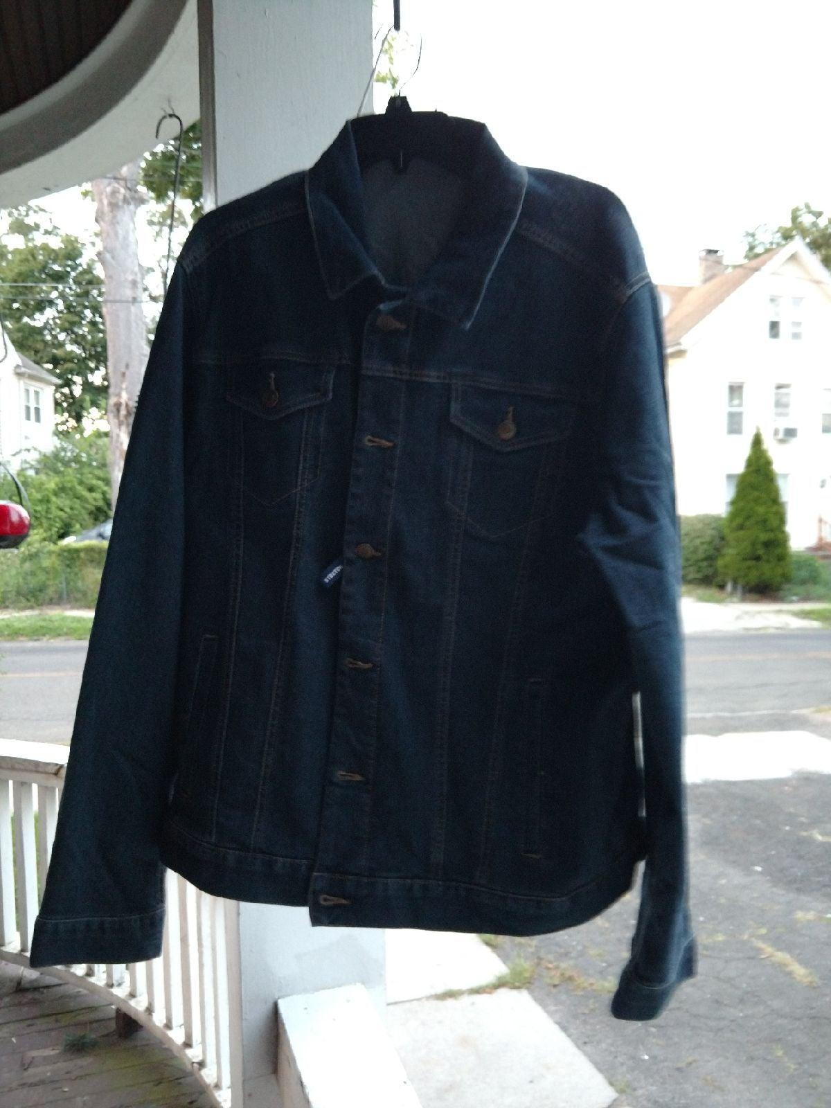 George's dark Denim Jackets