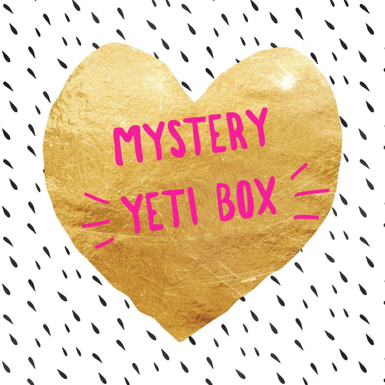 Mystery Yeti Box