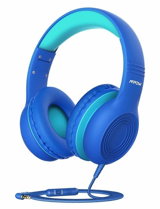 Mpow CH6S Kids Headphones with Microphone Over Ear, On Ear Headphones for Kids w