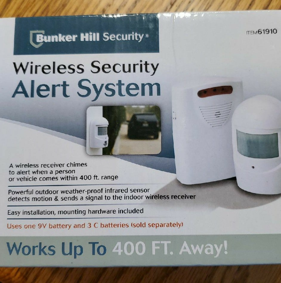 Bunker Hill Wireless Security Alert Syst