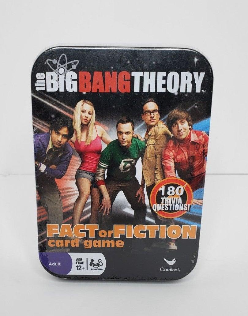 Big Bang Theory Fact Fiction Card Game