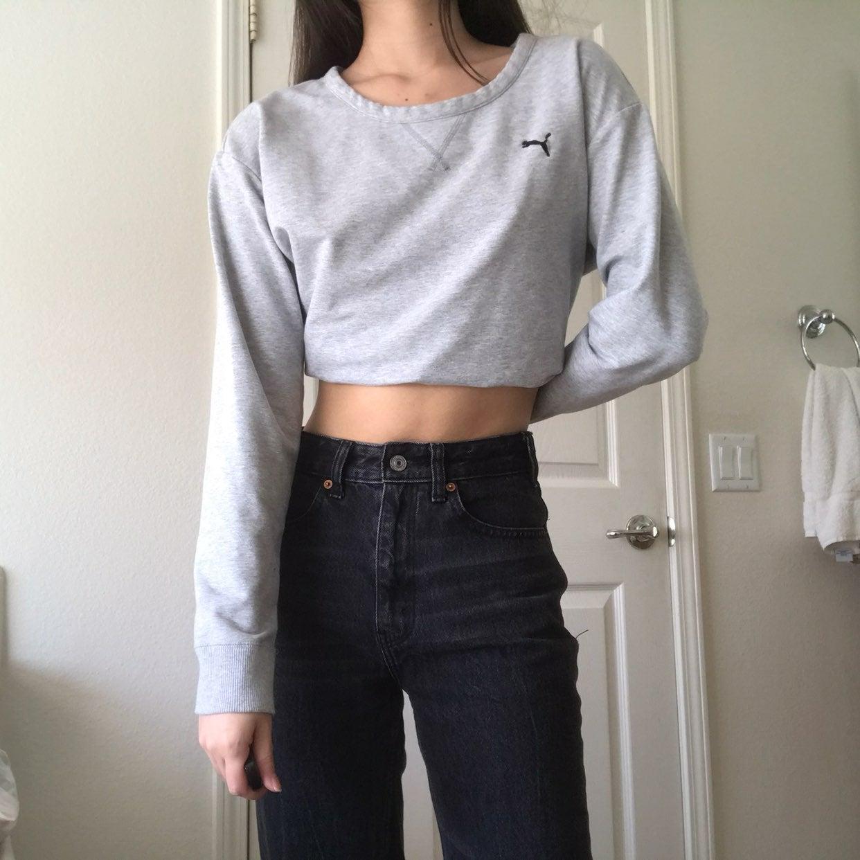 Puma Sweater with Cutout Back