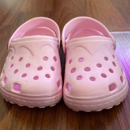 New balance crocs pink