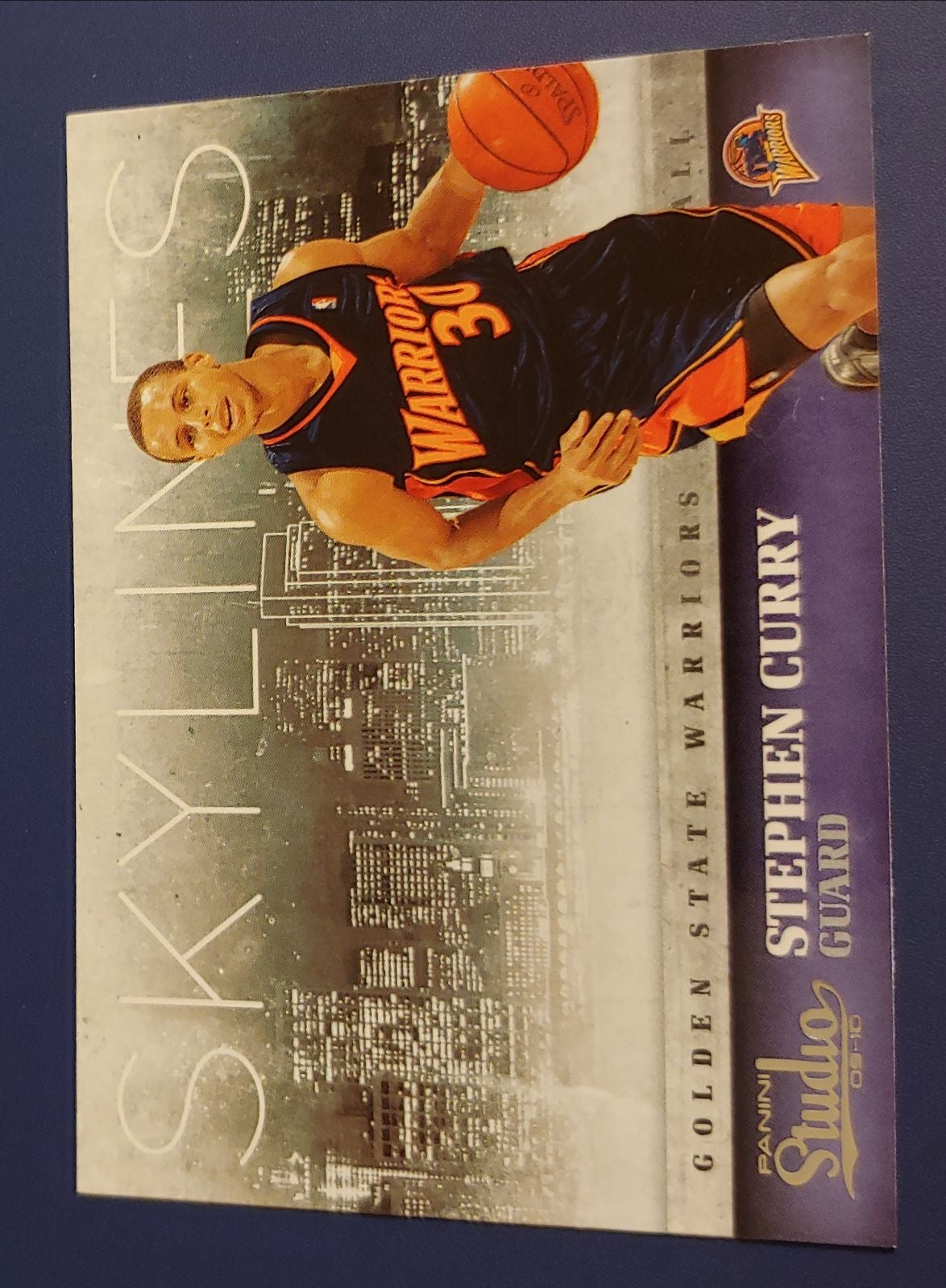 Stephen Curry rookie.
