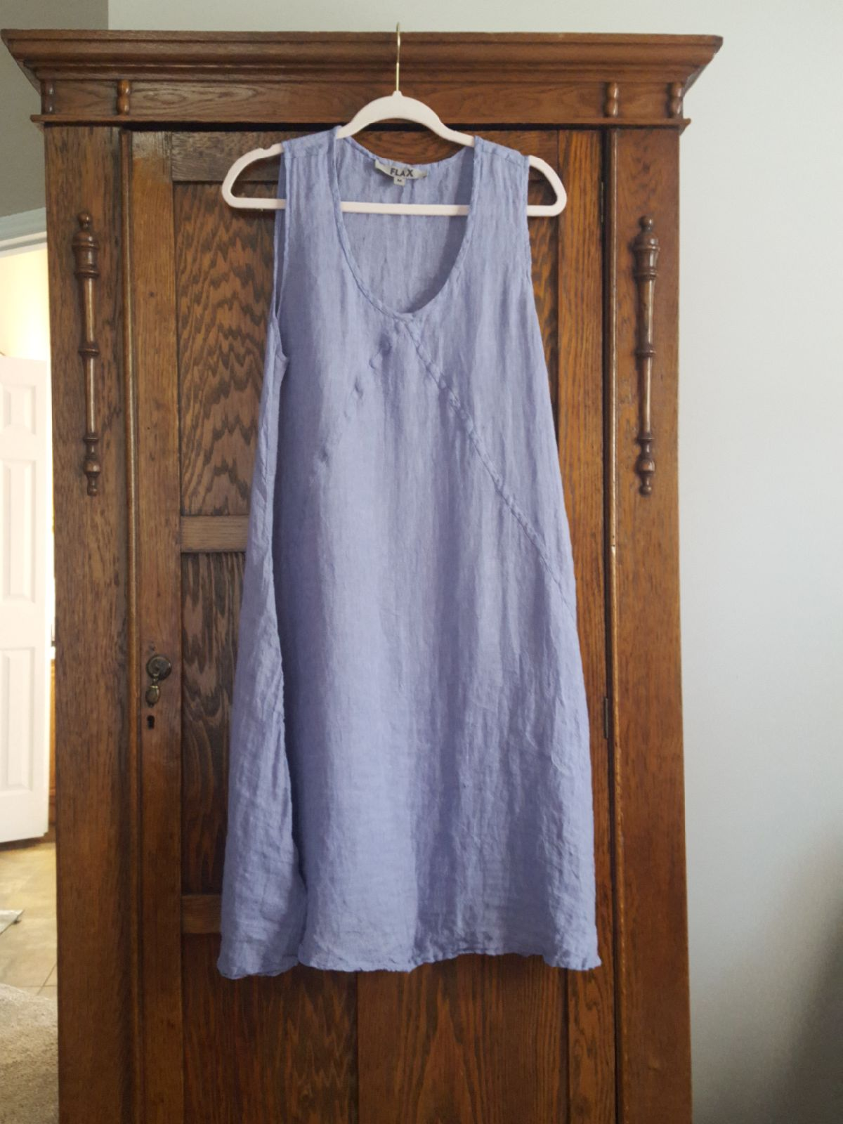 FLAX Linen Lilac dress