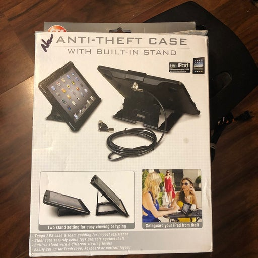 New anti-theft case for iPad