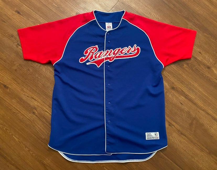Rangers Baseball Jersey