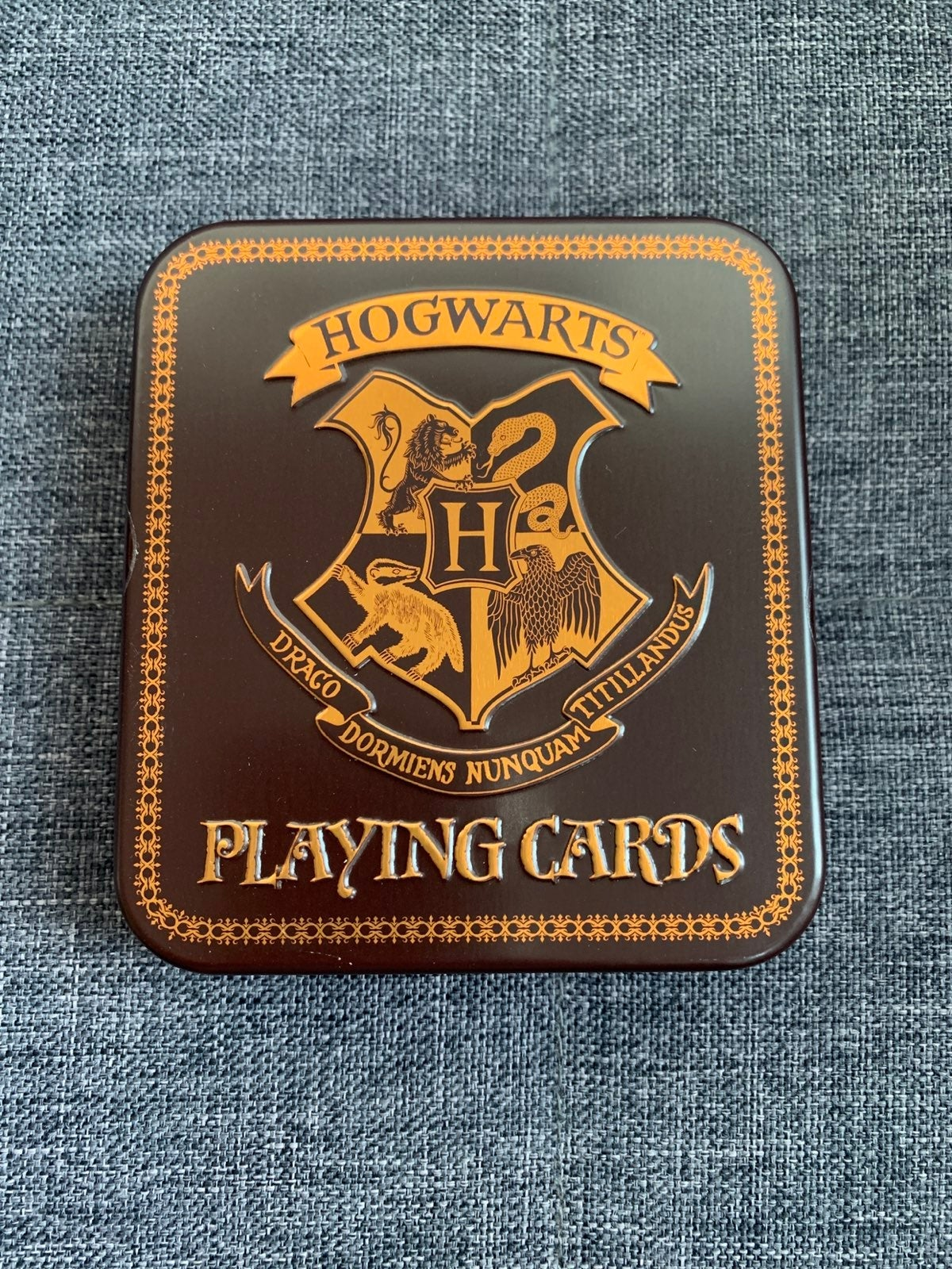 """Harry Potter """"Hogwarts"""" playing cards"""