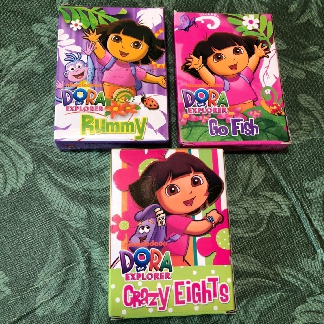 Dora the Explorer Card Games - Set of 3
