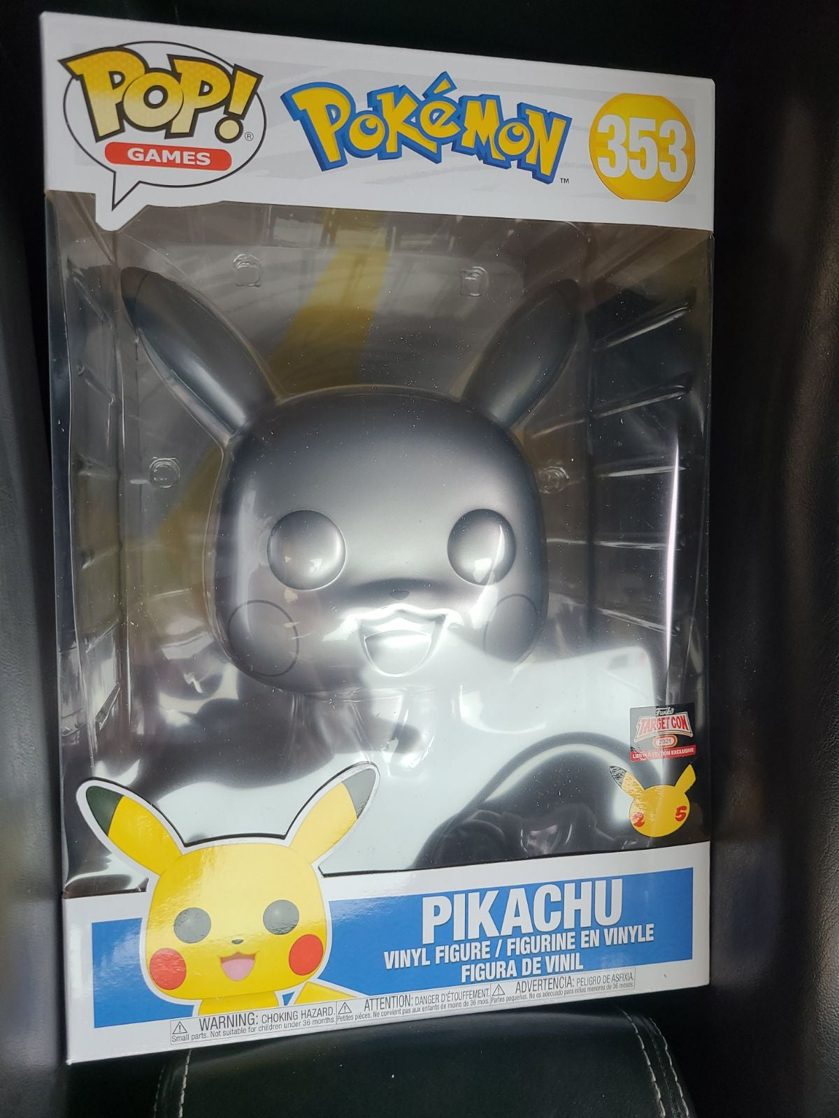 Funko Pop 10 inch Pikachu