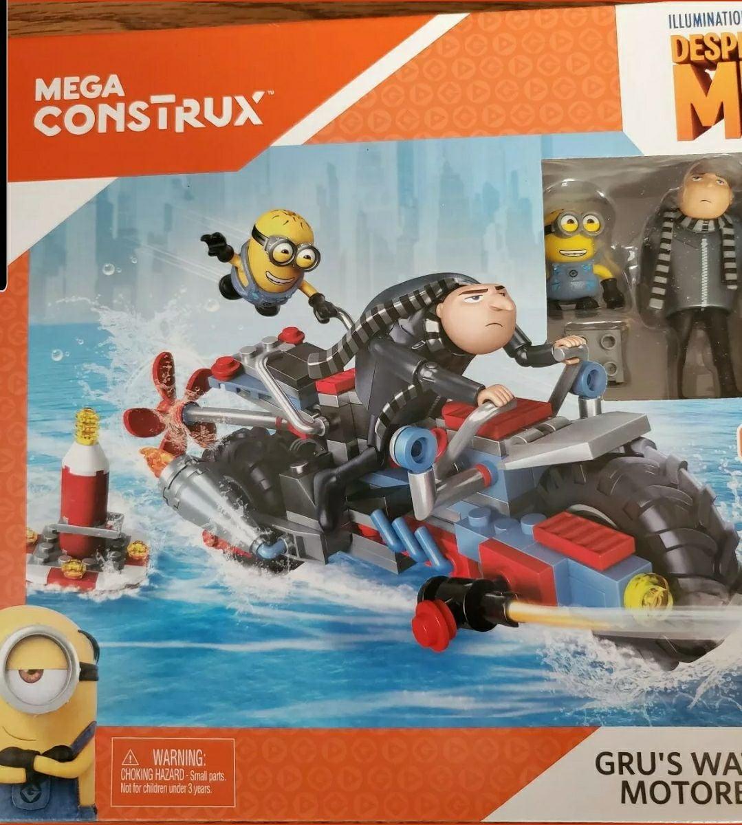 New Gru's Water Motorbike, Mega Construx