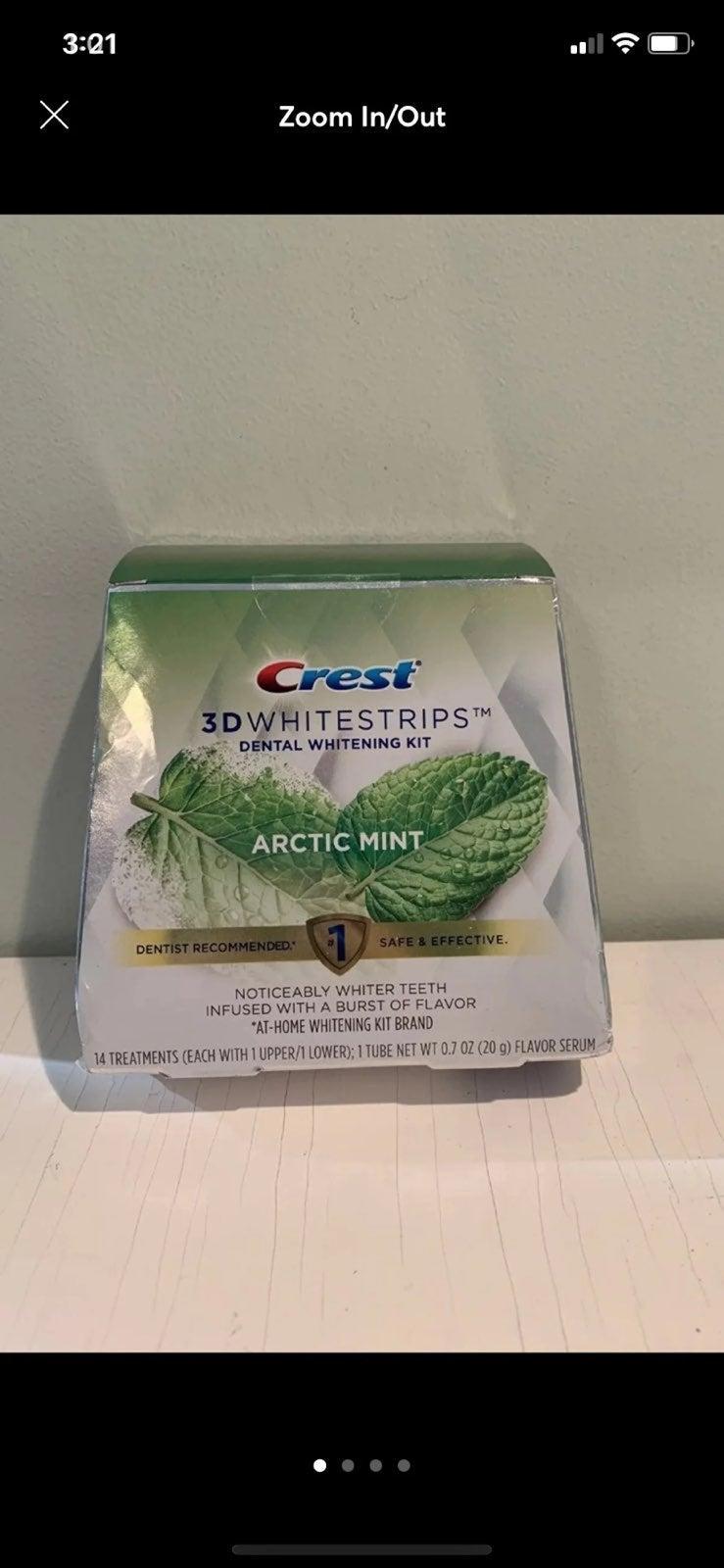 Brand New Crest Whitestrips Arctic Mint