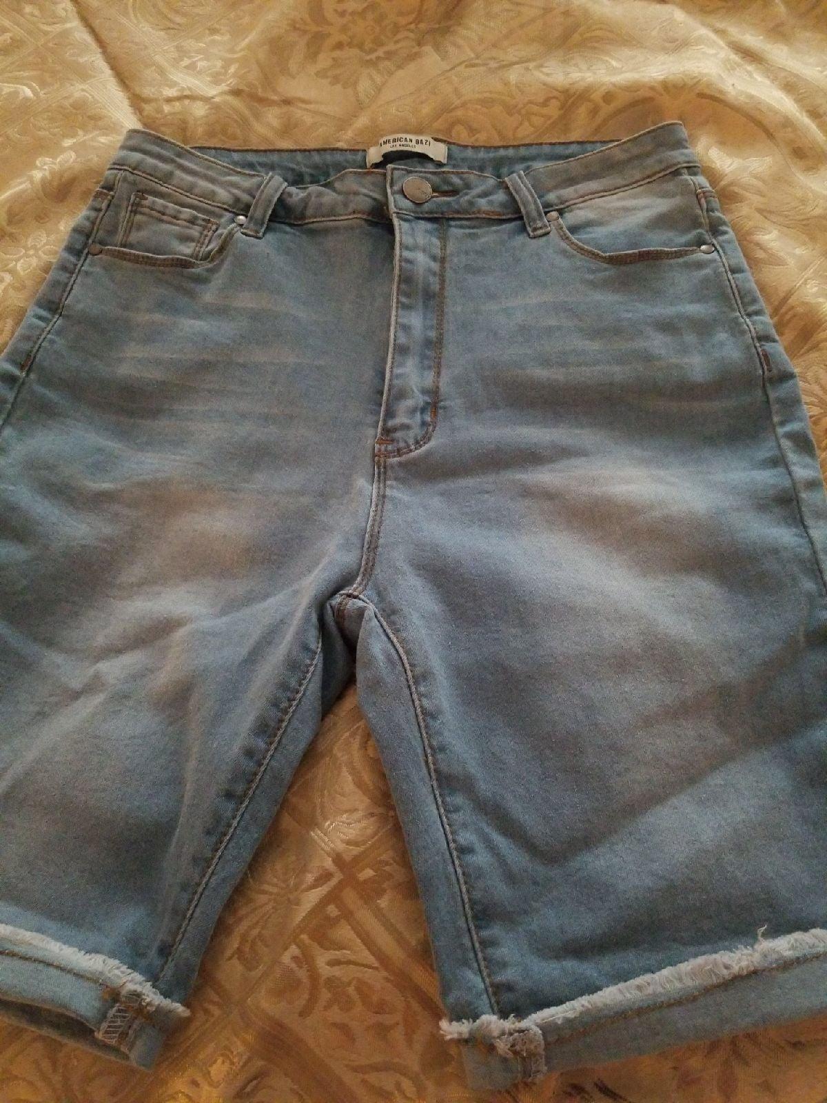 Womens Bermuda style Jean shorts