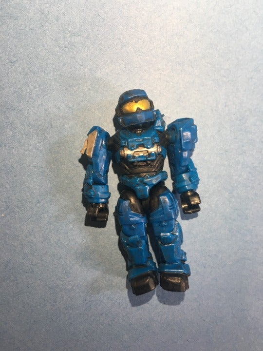 Mega Bloks Halo Blue Spartan