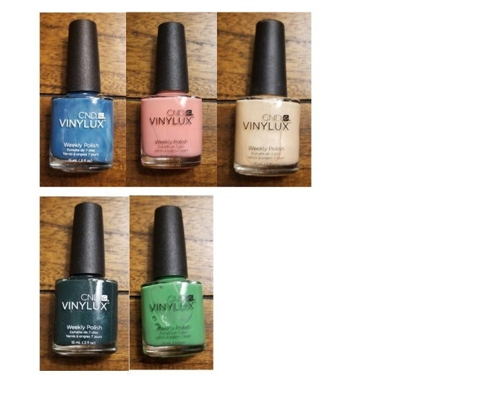 5 CND Vinylux Weekly Nail Polishes