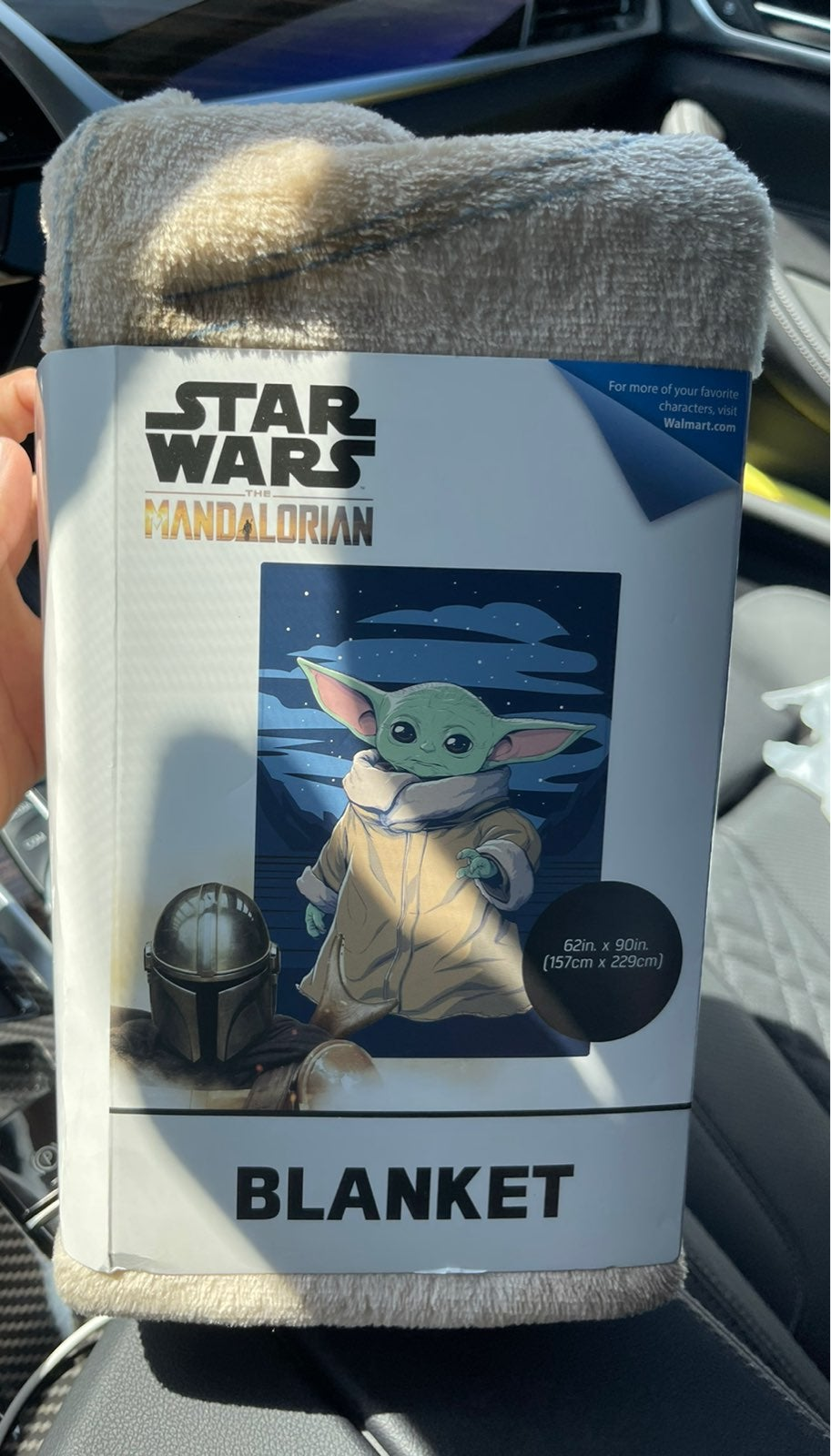 Star Wars Baby Yoda Soft Blanket