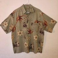 8fe740e0 Natural Issue Men's L Tan Hawaiian Shirt
