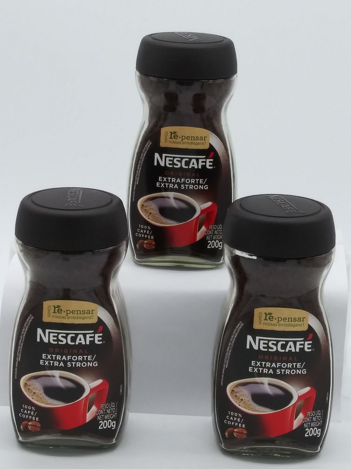 3 Nescafe Extra Frothy Coffee 200g