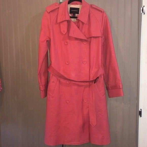 Club Monaco Pink Trench Coat w/ Belt