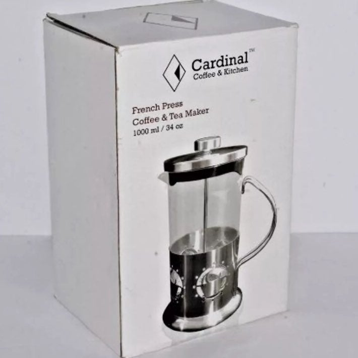 New CARDINAL French Press Coffee Maker